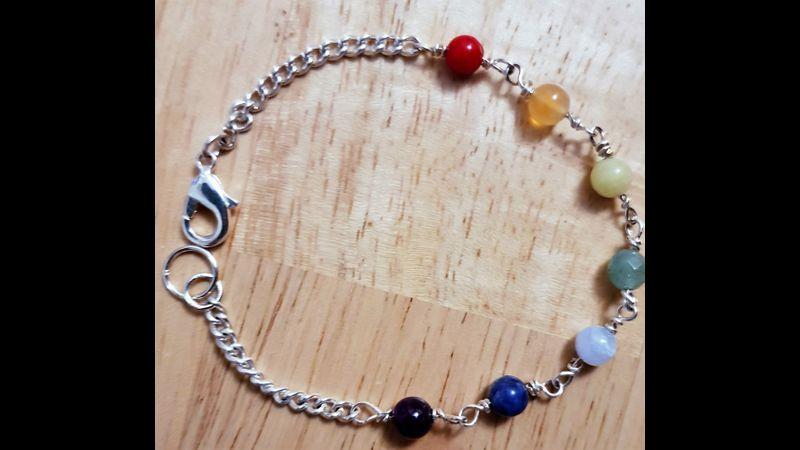 Part of Set ~ Chakra Bracelet KIT Genuine Gemstones