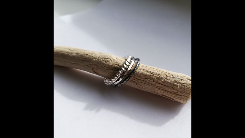 A collection of Stacking Rings