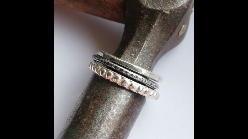 Each ring collection has different combinations you can wear them, making them unique.