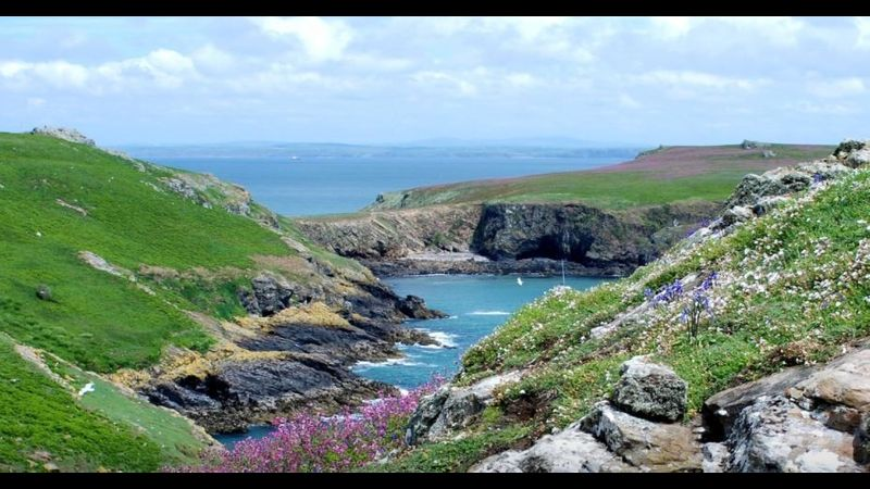Autumn digital photography in Pembrokeshire at Dale Fort