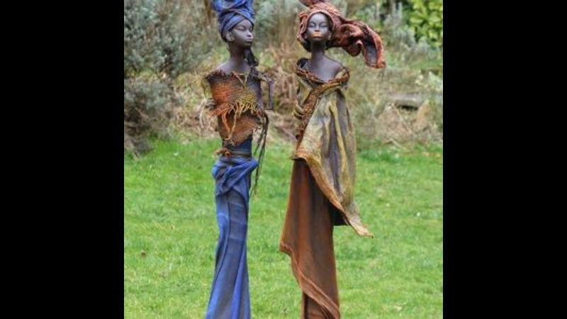 Powertex sculpture figurine workshop with Craft My Day