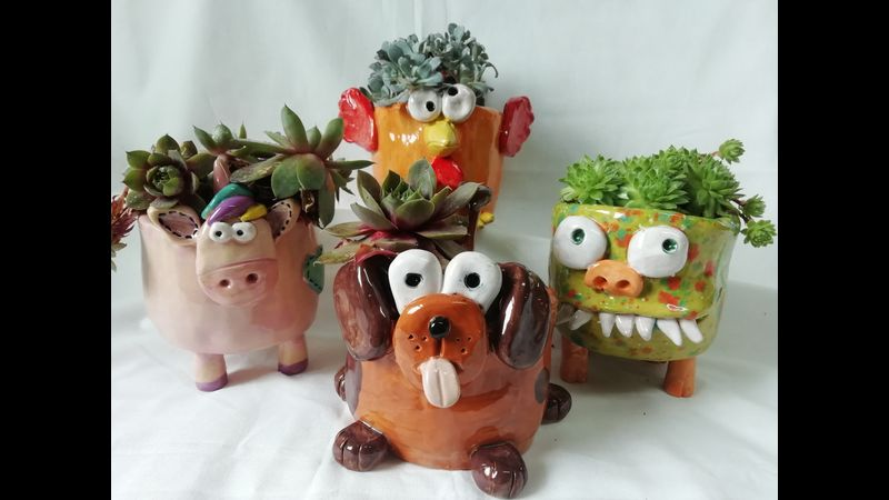 our wild thing pots are popular makes
