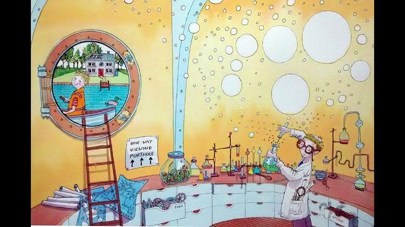 Children's Book Illustration from tutor Carol Adlam
