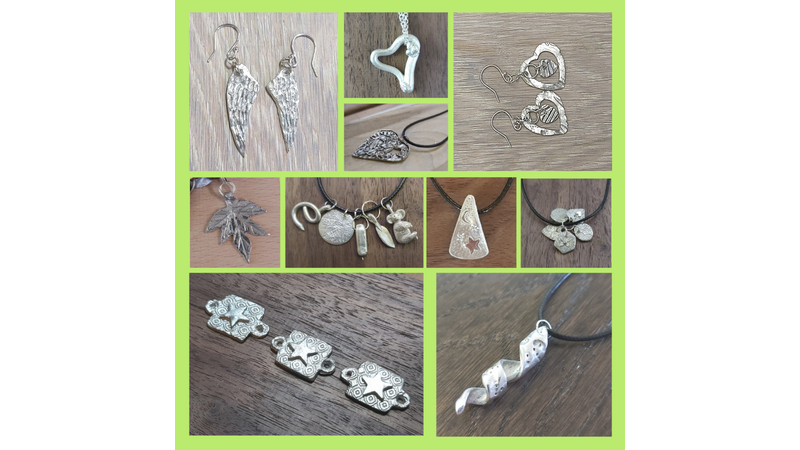 Silver Art Clay for Jewellery Beginners Student Pendants, Earrings and Charms