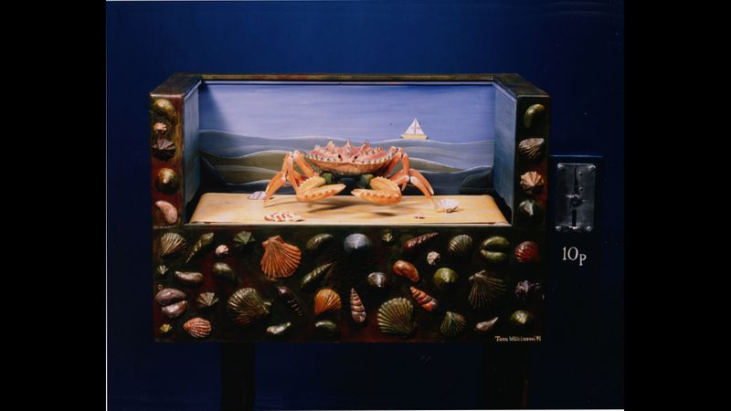'Crustacean Keep-fit' The Museum of Automata, York.
