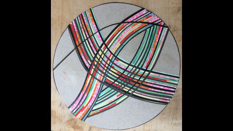 Layering strips