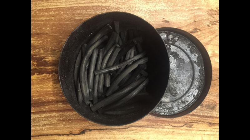 Learn how to make a small batch of artist charcoal
