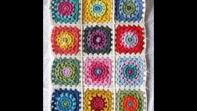 Crochet granny squares beginner's workshop with Craft My Day