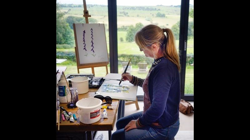 Stunning studio with incredible Peak District views
