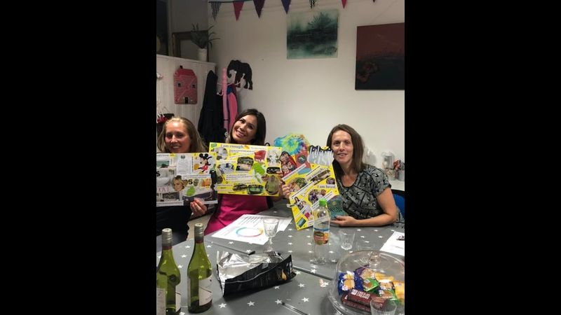 Vision board workshop with Craft My Day