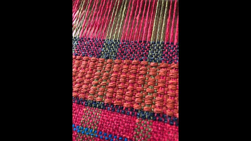 Colour, texture, pattern at Become a Weaver workshop