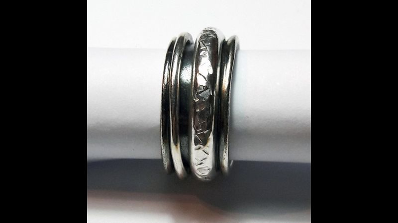Spinner Ring - Jewellery Making Tuition in London