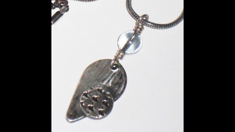 Metal Clay Pendant - SIlver Clay Beginners Class - Jewellery Making Tuition in London