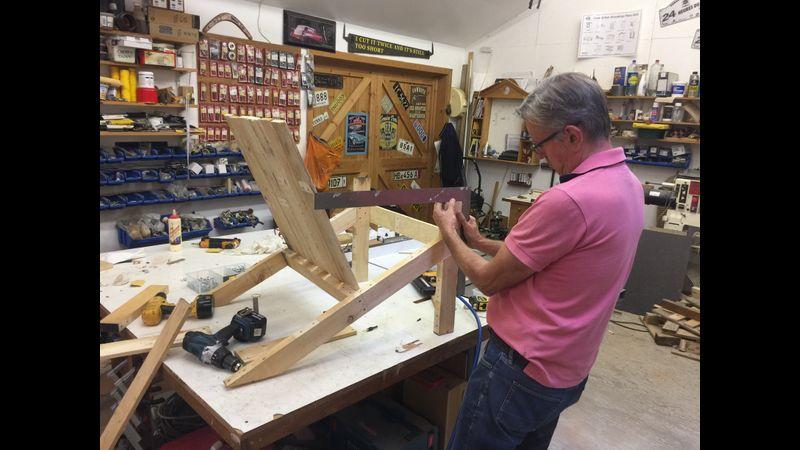 Construction of deckchair