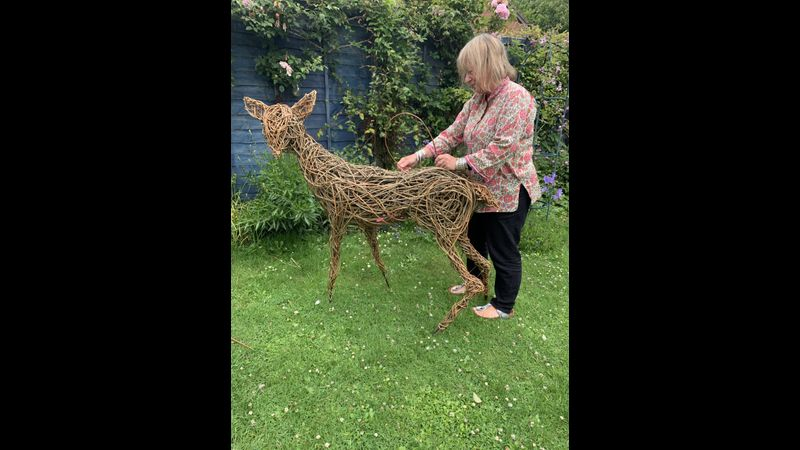 """I am delighted with the willow deer course I recently purchased. The instructions and attention to detail regarding the legs ears and tail are excellent."" (A. Woodruff – Online student)"