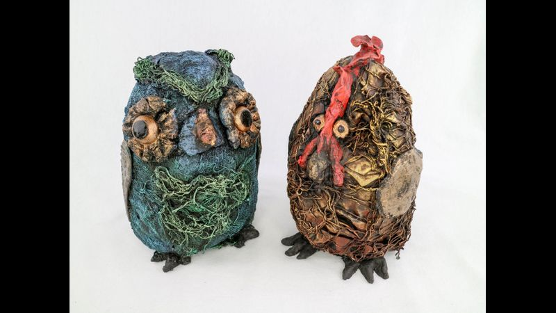 Owl and Chicken
