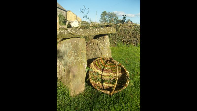 Willow and hedgerow frame basket at Humble by Nature last year