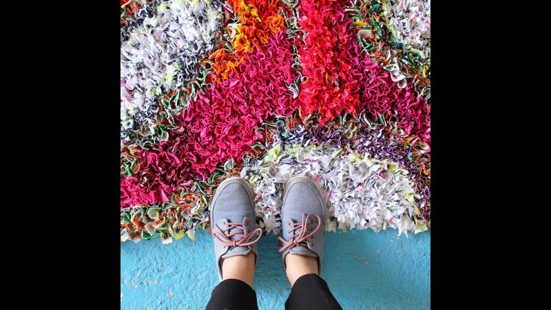 Ragged Life Rag Rug Workshops in Brighton