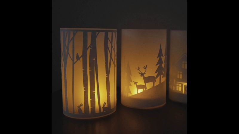 Festive Template Pack Lantern Designs