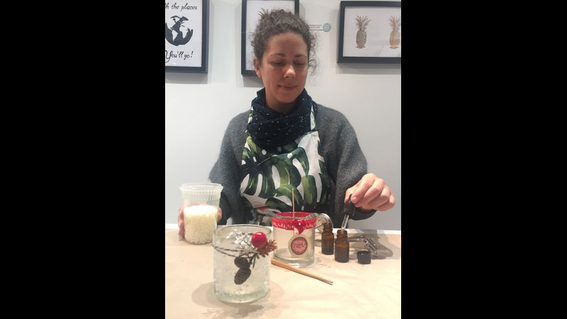 Christmas Candle Making Class