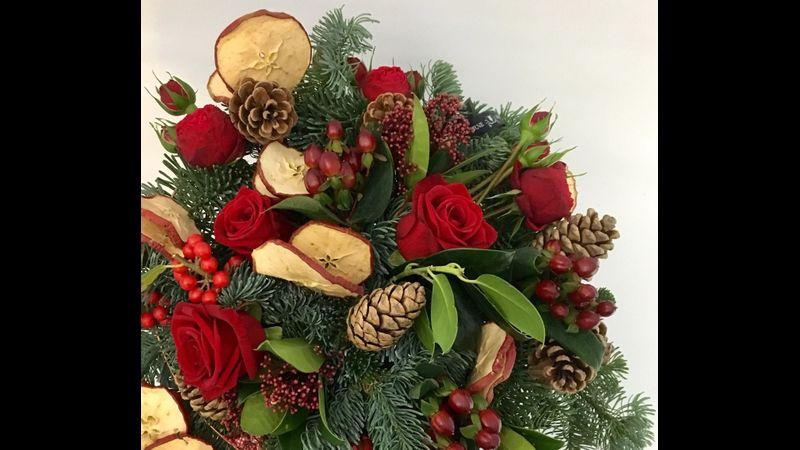 Christmas Wreath Making Leamington Spa
