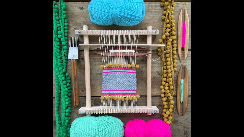 Coaster on the loom