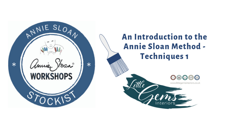 Annie Sloan Stockist Workshop - Techniques 1