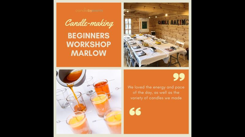 Candle making workshop in Marlow