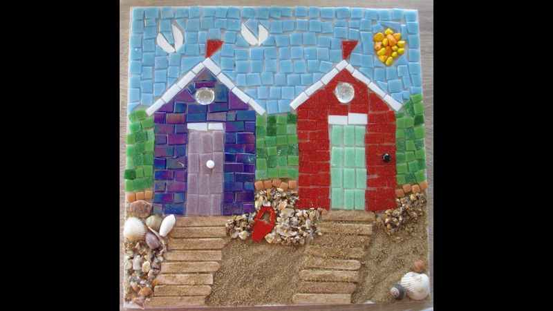 Fabulous mosaic made by someone on my Beginners Course.
