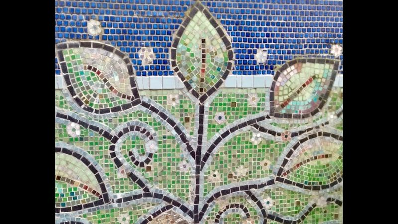 Mosaic in a Day at Cowshed Creative in the Lake District National Park