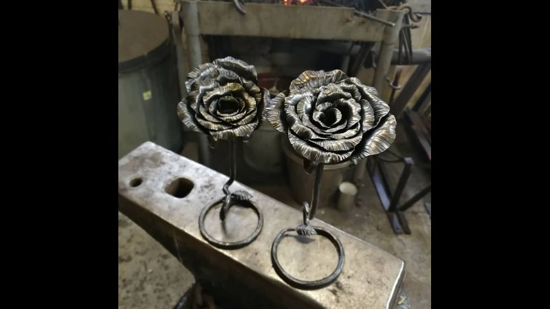 Forge your own beautiful rose