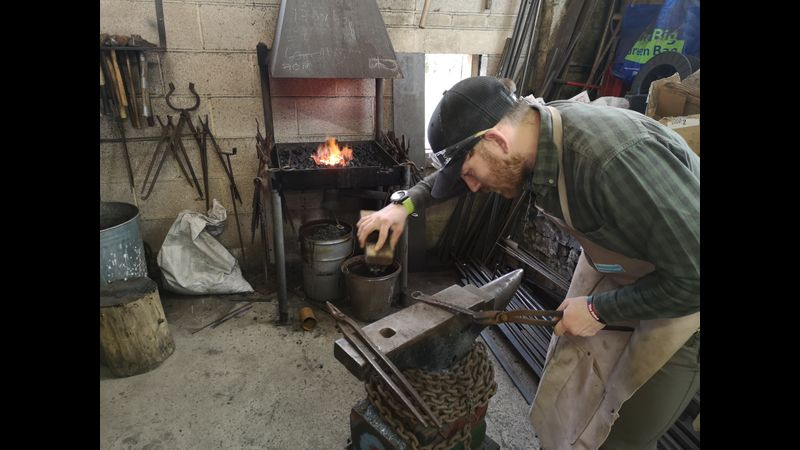 come and enjoy a day in the forge!