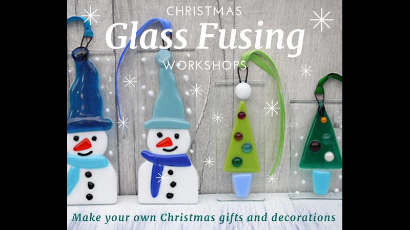 Christmas Glass fusing workshop