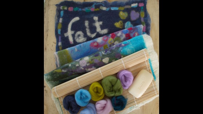 Introduction to felt-making