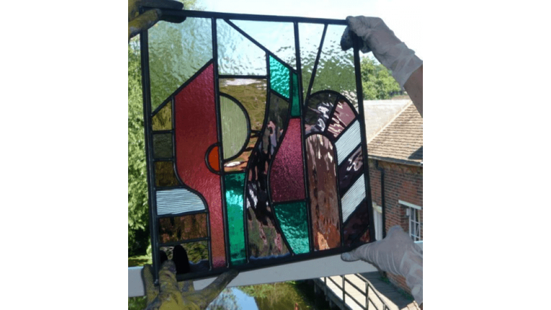 Stained glass: painting with light at Flatford Mill