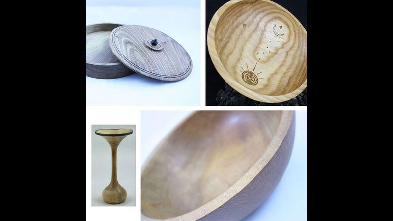 Some of Simon's pieces.