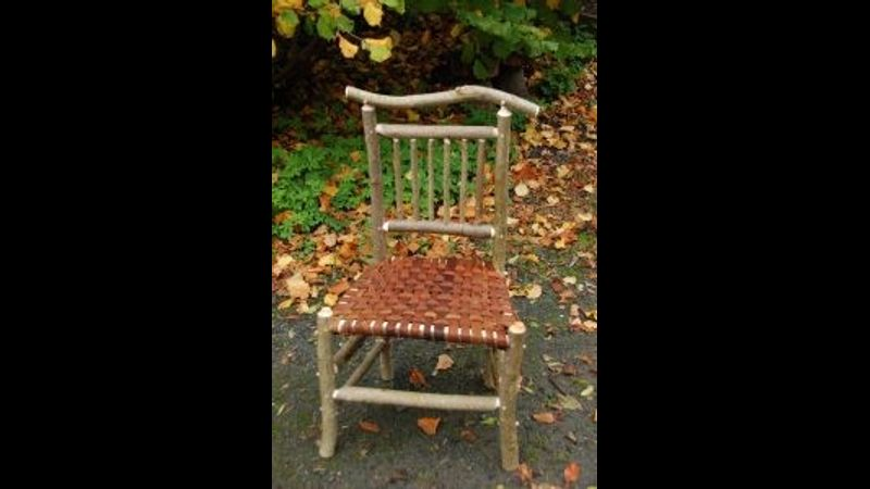 Rustic chair making