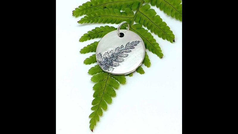 Fern Leaf Pendant