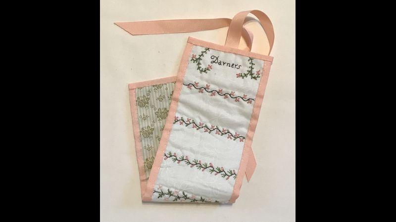 Brontë needle roll & Regency embroidery workshop
