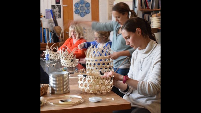 Basketry at SAOG Studios