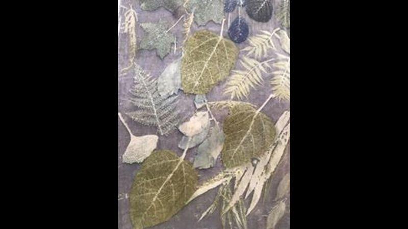 Botanical Eco-Printing with Deborah Dawn