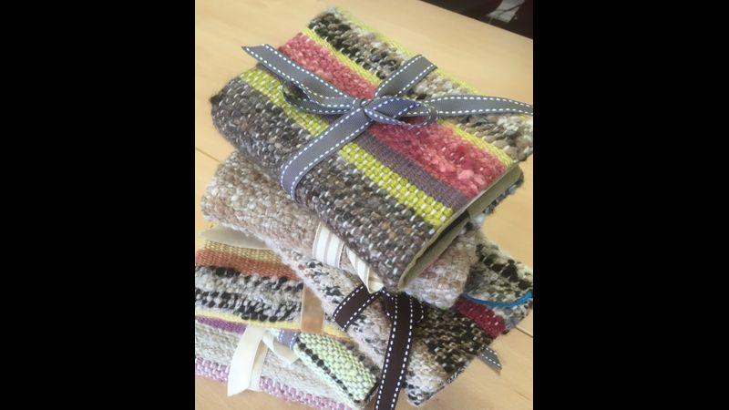 Handspun - Handwoven - Handmade Journal Covers