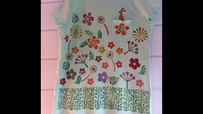 Children's T Shirt, bring in your own items to customise, a discount applies.