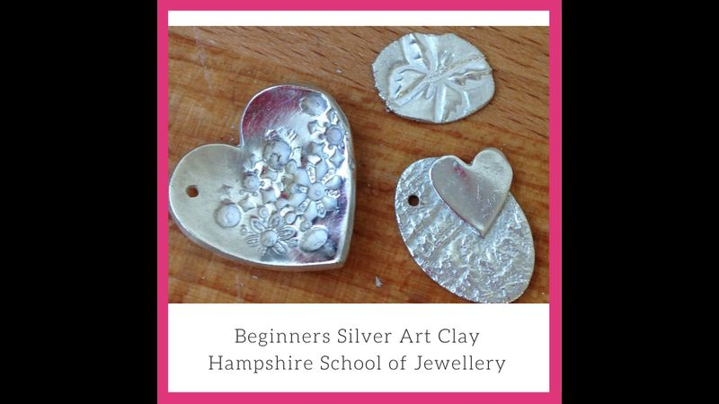 Beginners Silver Art Clay with Hampshire School of Jewellery