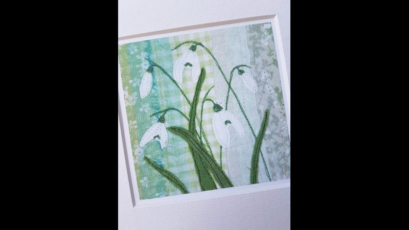 Snow drops by Alison Whateley