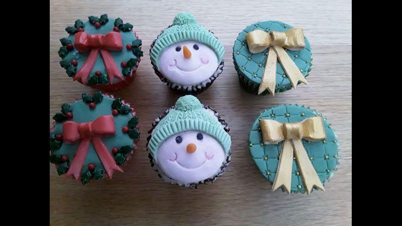 Christmas Cupcake Fun
