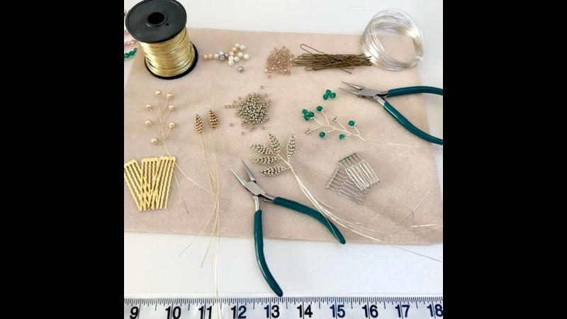 Jewellery course with Craft My Day