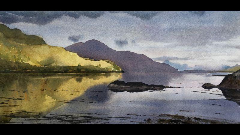 After the rain, Loch Duich