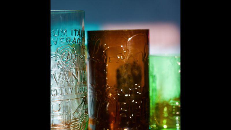 Glass Bottle Tumblers