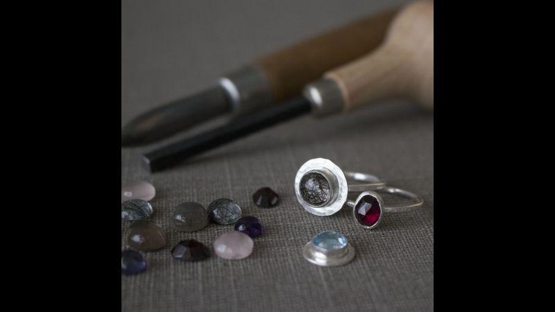 Stone Set Rings Workshop